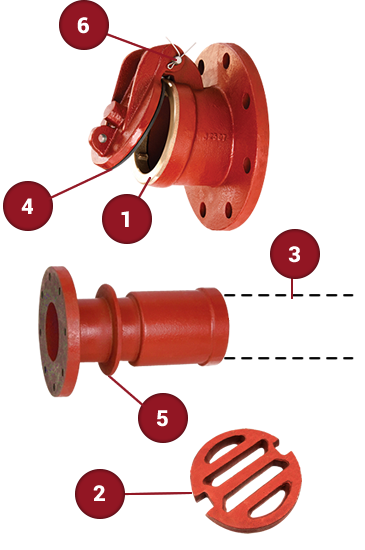 Wall Type Pressure Valves